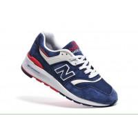 Мужские кроссовки для повседневной носки new balance 997 dark blue