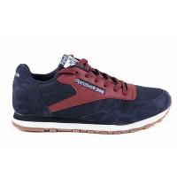 Мужские кроссовки для повседневной носки reebok classic dark blue