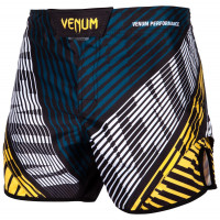 Шорты venum plasma black/yellow