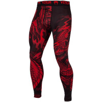 Спортивные штаны venum dragon black/red