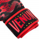 Боксерские перчатки venum dragon black red