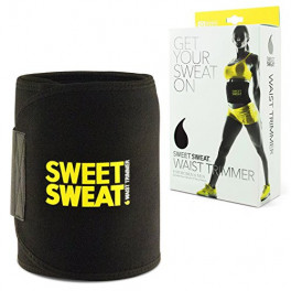 Термопояс Sweet Sweat Waist Trimmer Belt желтый