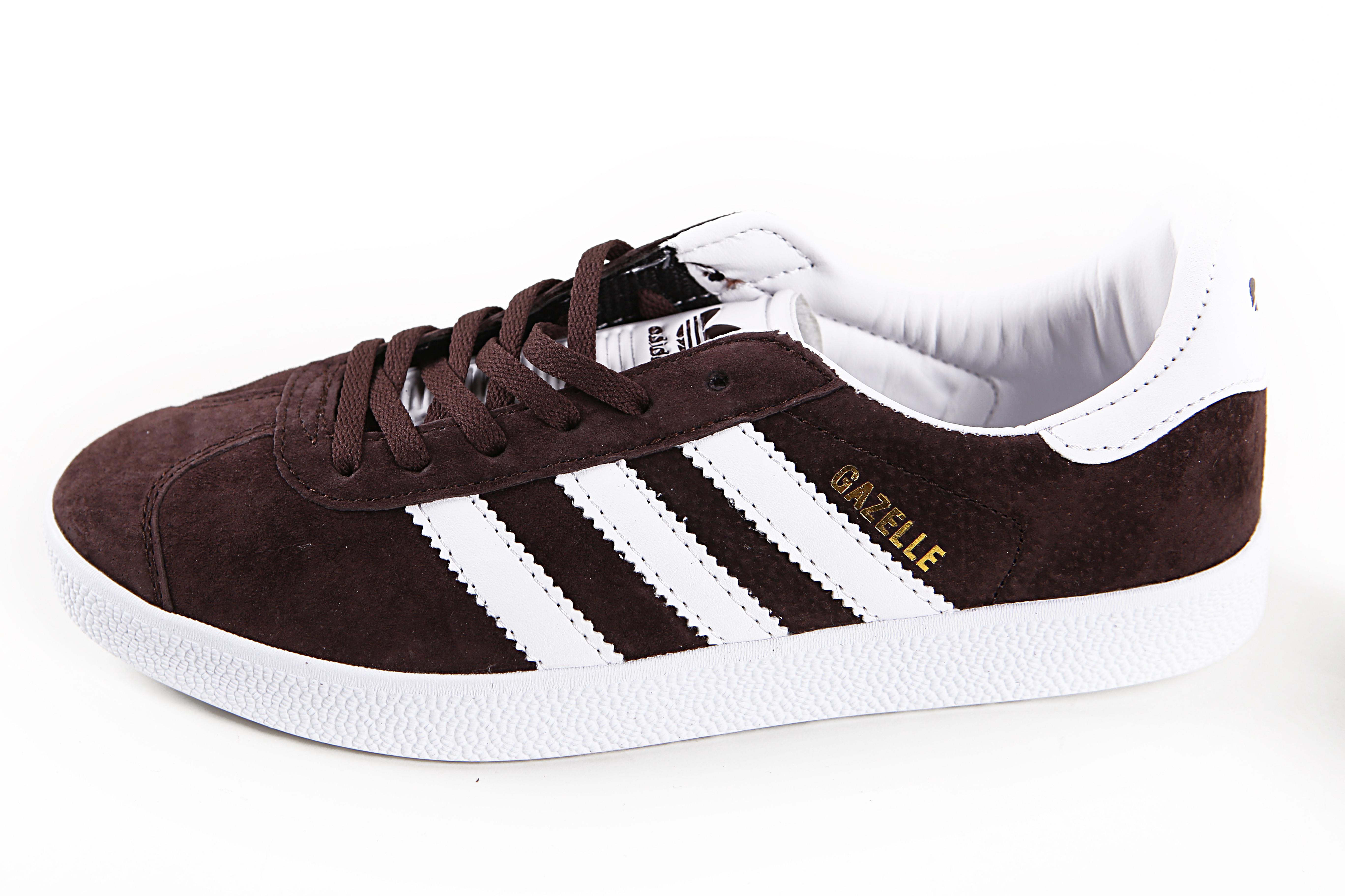 Мужские кроссовки adidas originals gazelle brown
