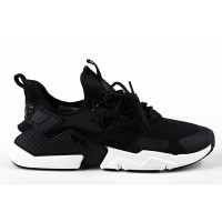 Мужские кроссовки nike air huarache ultra black white