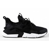 Мужские кроссовки nike air huarache ultra black white