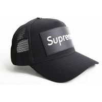Бейсболка supreme черная