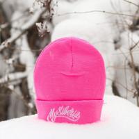 Шапка mysiberia розовая