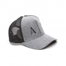Бейсболка armani exchange grey