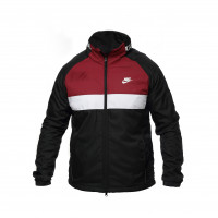Куртка nike black/maroon