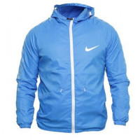 Мужская ветровка nike team sideline rain jacket blue