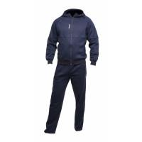 Спортивный костюм reebok classic утепленный синий