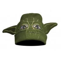 Шапка starwars йода green