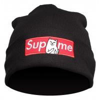 Шапка supreme black