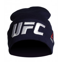 Шапка reebok ufc blue white
