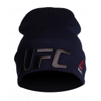 Шапка reebok ufc blue black
