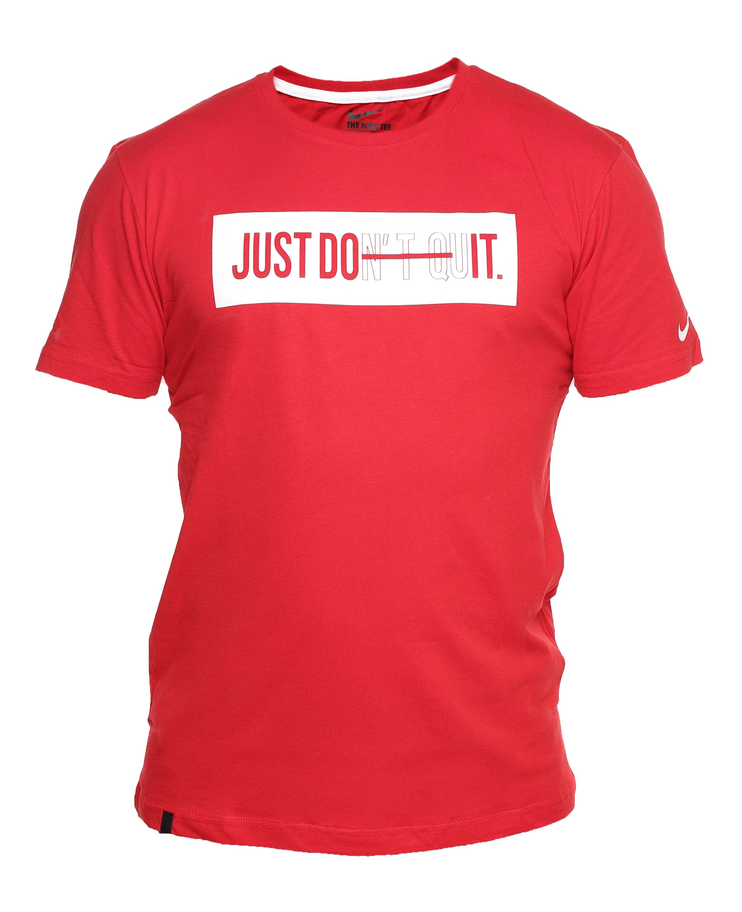 f4a65d69 Мужская Футболка Nike Just Do It Red 9466: где купить недорого - по ...