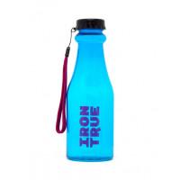 Бутылка iron true 550мл розовый-синий