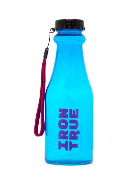Бутылка iron true 550мл черный-голубой