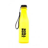 Бутылка iron true 550мл черный-оранжевый