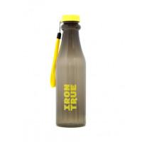 Бутылка iron true 750мл черный-желтый