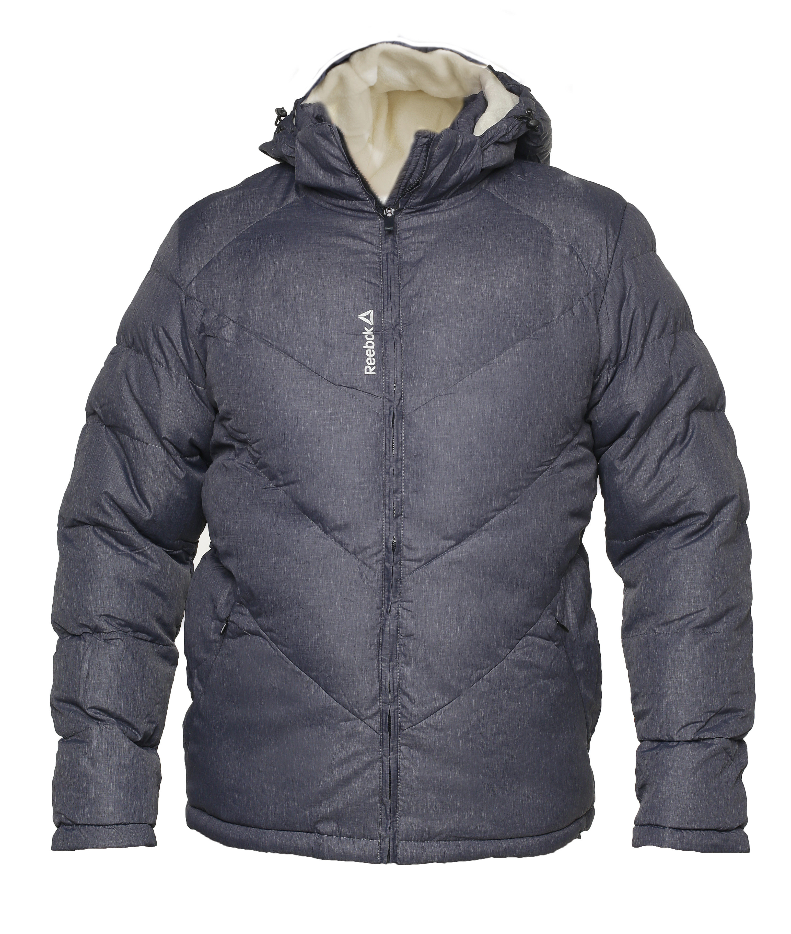 Утепленная куртка reebok crossfit grey k319