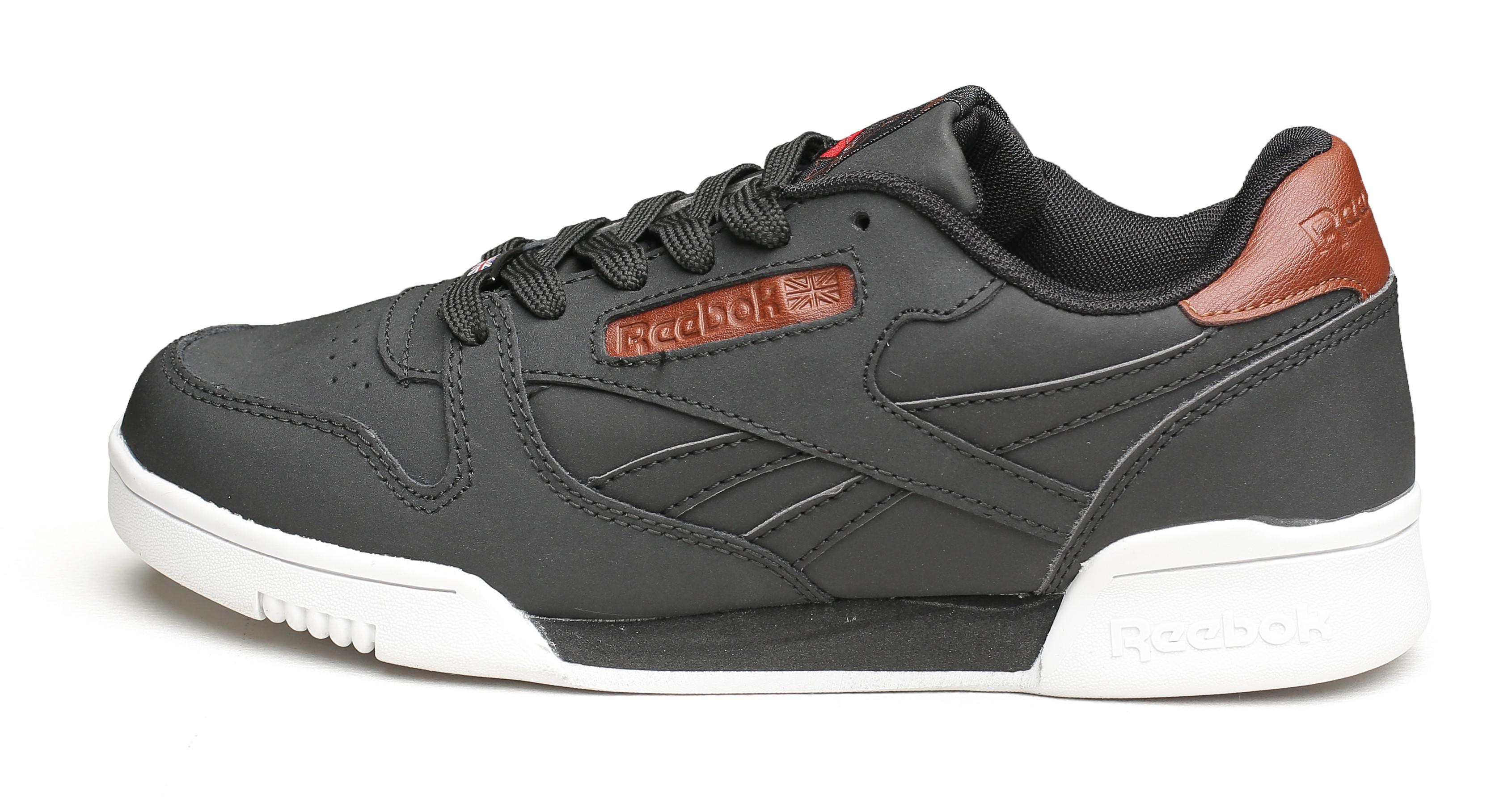 Мужские кроссовки reebok classic black brown