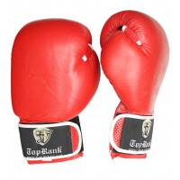 Перчатки боксерские tor rank red