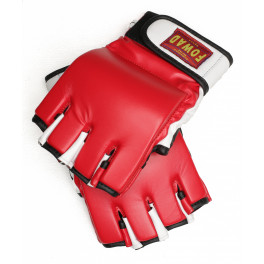 Перчатки для mma fowad red white