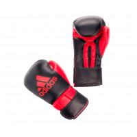 Перчатки боксерские adidas super pro safety sparring hook & loop черно-красные adibc23n