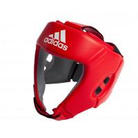 Шлем боксерский adidas aiba красный aibah1