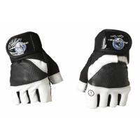 Перчатки для кроссфита и фитнесса progryp black white