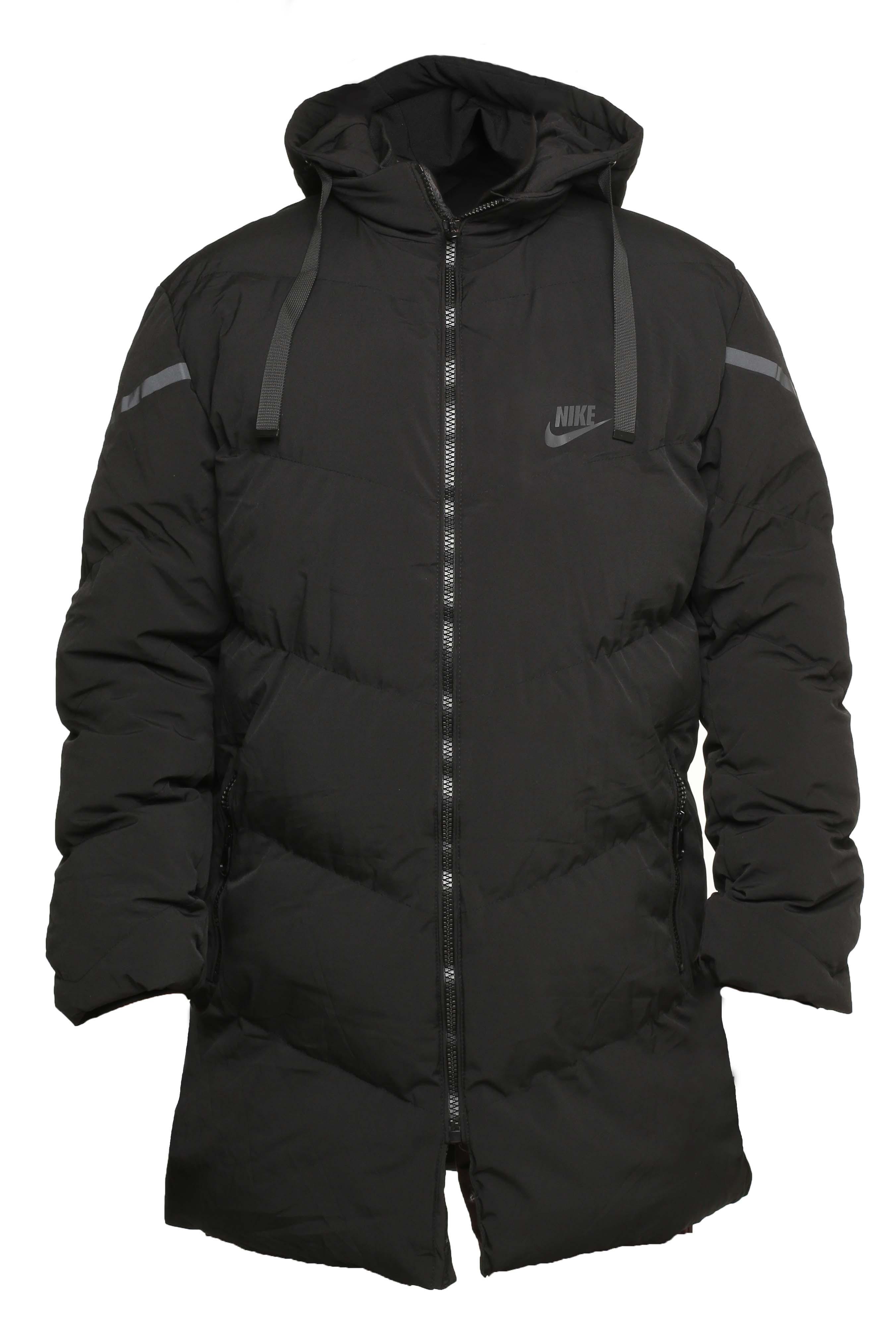Зимняя куртка nike down fill black black 5566