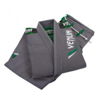 Кимоно для бжж venum elite bjj gi -grey