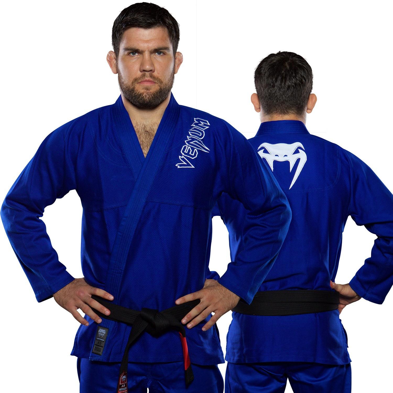 Кимоно для бжж venum contender bjj gi - blue