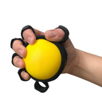Эспандер для ручной терапии exercise ball yellow