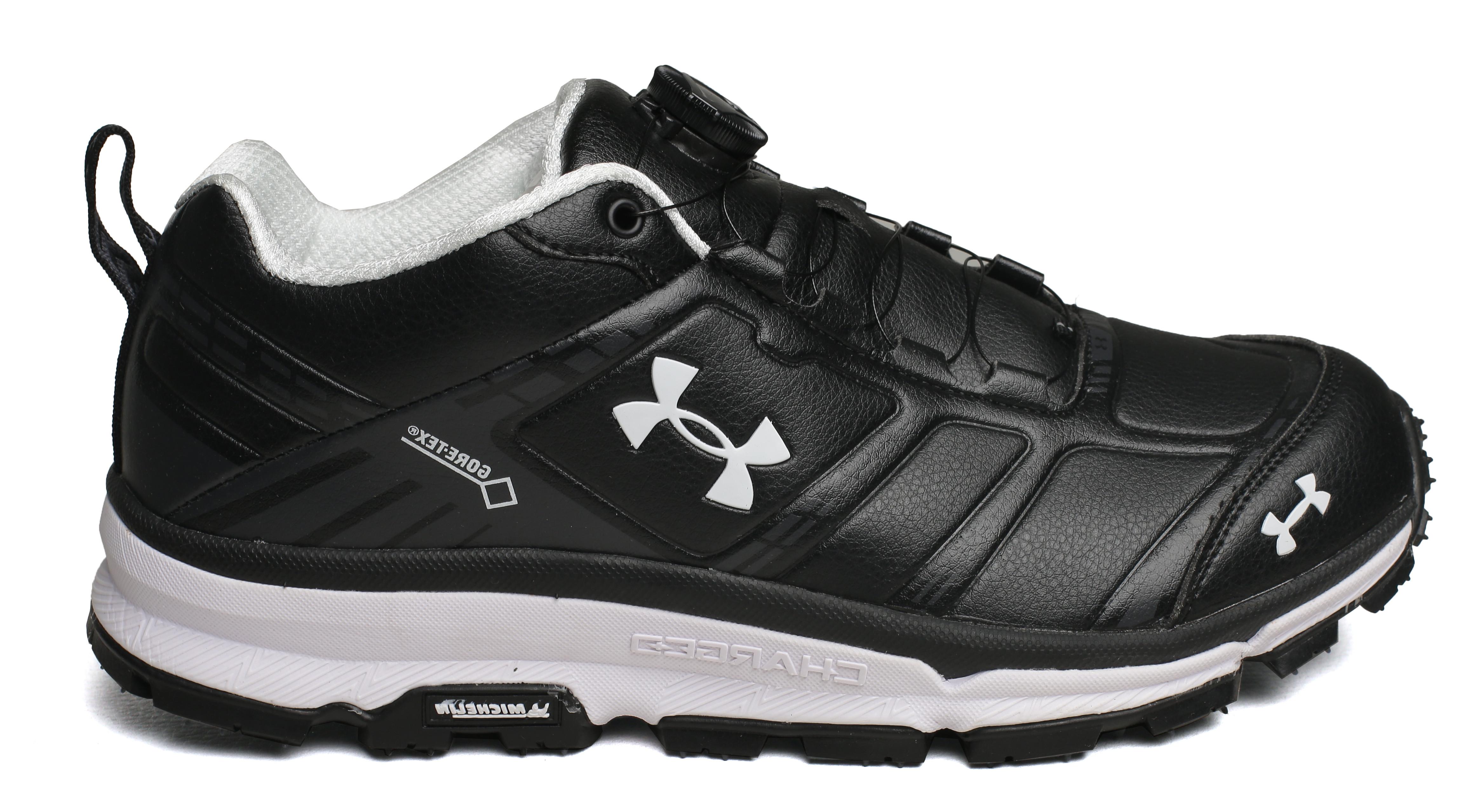 Мужские кроссовки для повседневной носки under armour charged black