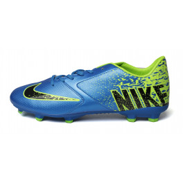 Бутсы nike blue yellow 810