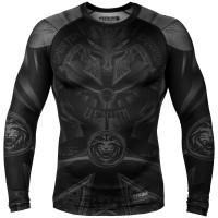 Рашгард venum gladiator 3.0 rashguard long sleeve black/black