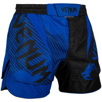 Шорты venum nogi fightshorts 2.0 black blue