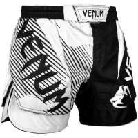 Шорты venum nogi fightshorts 2.0 black white