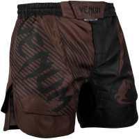 Шорты venum nogi fightshorts 2.0 black brown