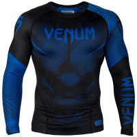 Рашгард venum nogi long sleeve 2.0 black blue