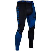 Спортивные штаны venum nogi spats 2.0 black blue