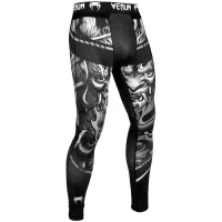 Спортивные штаны venum devil spats white black