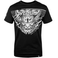 Футболка venum devil t-shirt white black