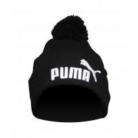 Шапка puma black с бубоном