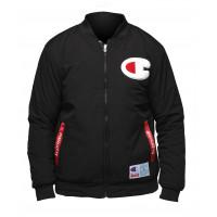 Утепленная куртка бомбер champion black