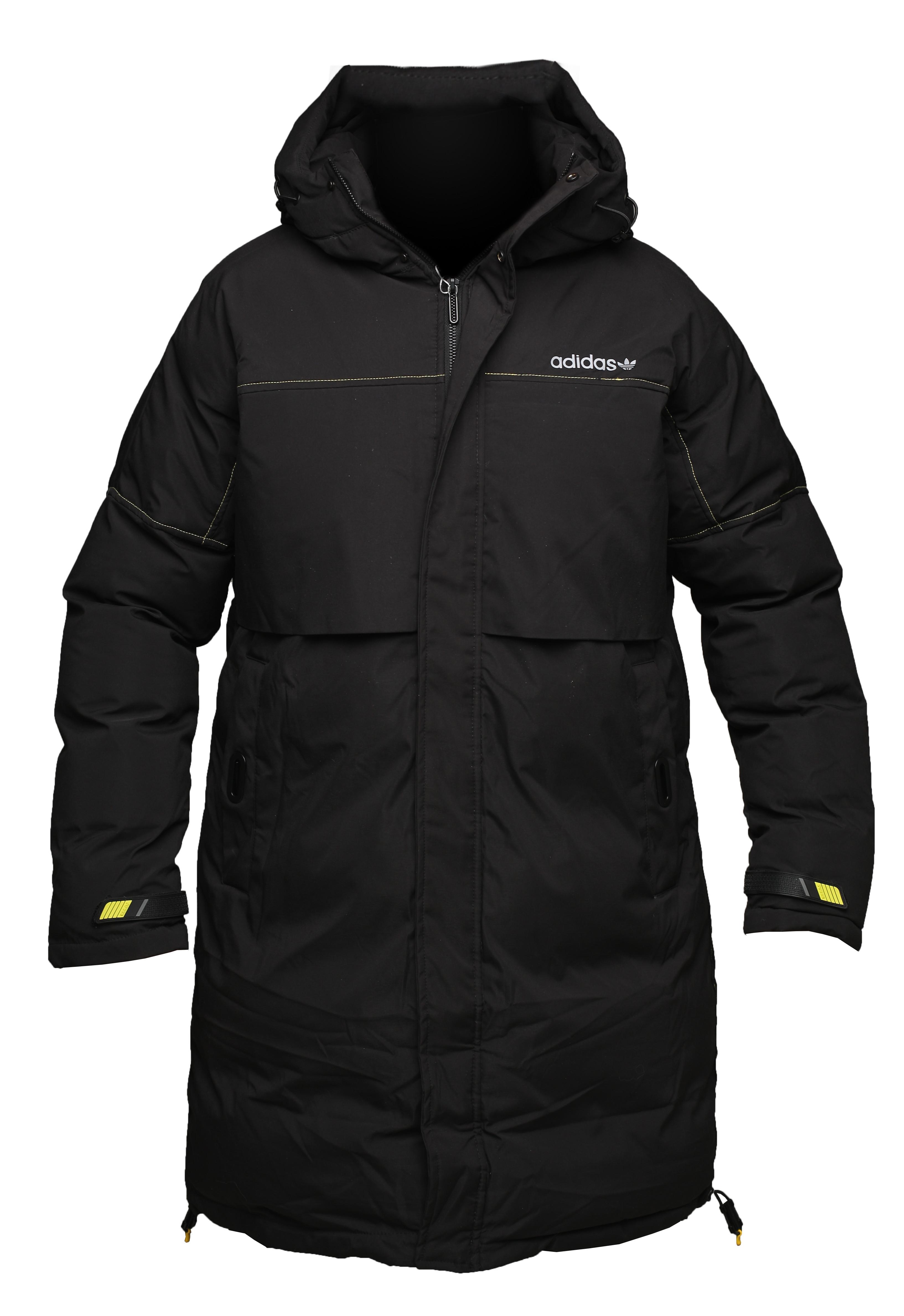Утепленная куртка adidas original life ceremony black
