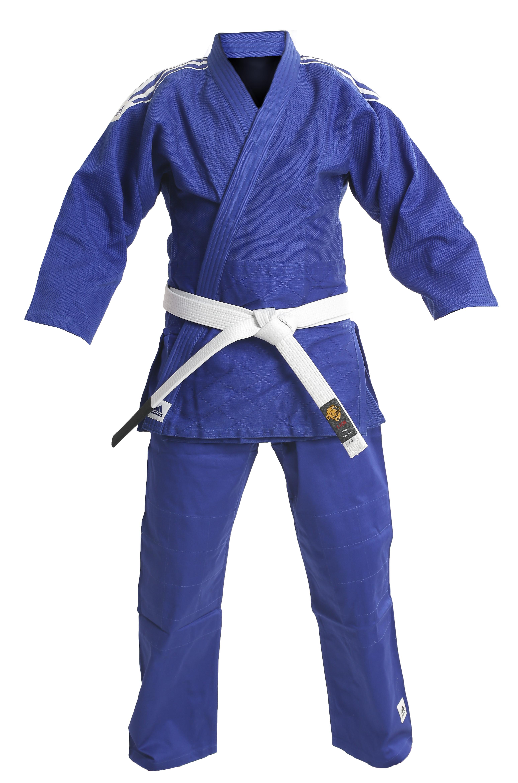 Кимоно для дзюдо adidas training j500 blue