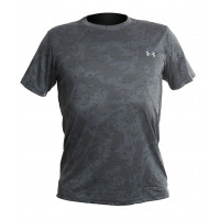 Футболка under armour heat gear grey